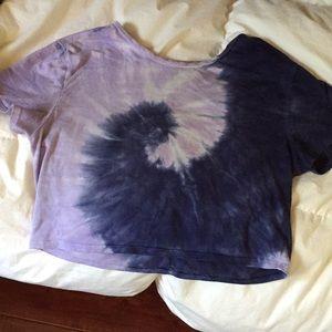 PacSun Tie Dye Crop Top